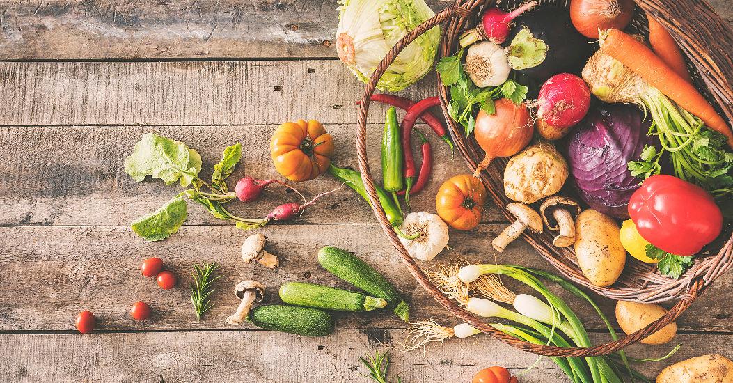 verduras de temporada